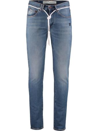 Off-White 5-pocket Slim Fit Jeans