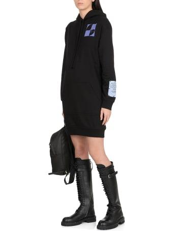 "McQ Alexander McQueen Mcq ""genesis Ii"" Hoodie Dress"
