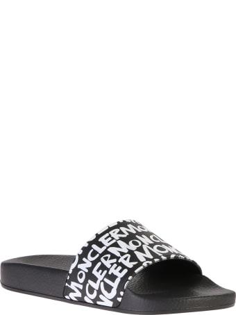 Moncler Branded Slide Sandals