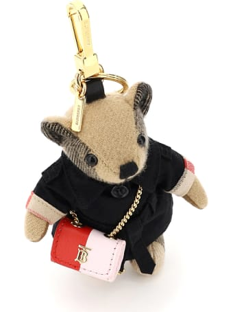 Burberry Thomas Lola Key Ring Charm