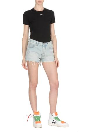 Off-White Bleach Shorts