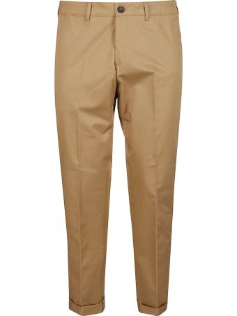 Golden Goose Beige Cotton Trousers