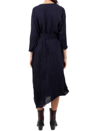 Daniela Gregis Blue Andrea Dress
