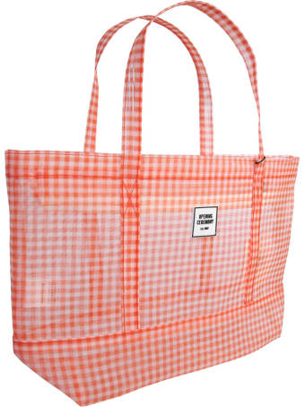 """Opening Ceremony Small """"gingham Chinatown Tote"""" Bag"""