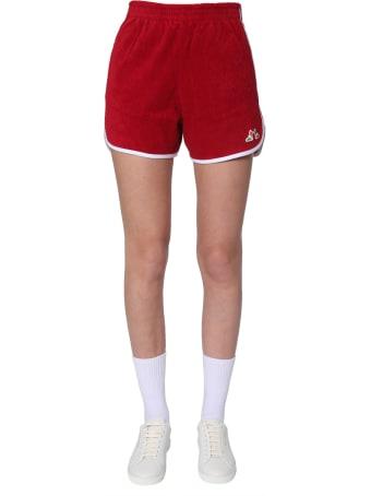 Maison Kitsuné Ribbed Sponge Shorts