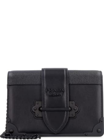 Prada Prada Cahier Leather Mini-bag