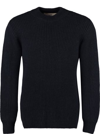 Séfr Leth Crew-neck Sweater
