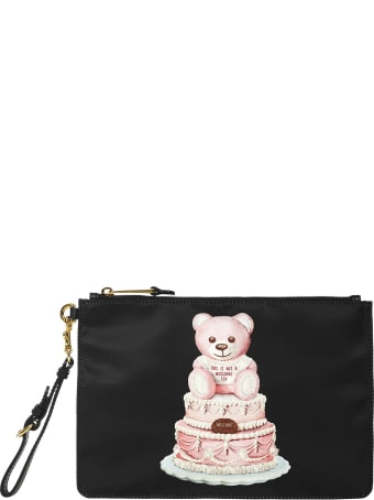Moschino Teddy Bear Cake Clutch