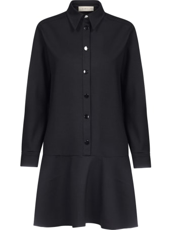 Blanca Vita Anastasia Flounce Shirt Dress
