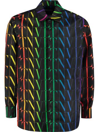 Valentino Technical Fabric Overshirt