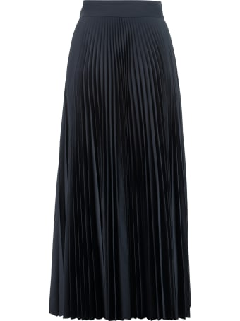 Parosh Pope Pleated Skirt