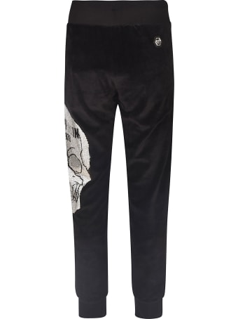 Philipp Plein Side Patch Detail Track Pants