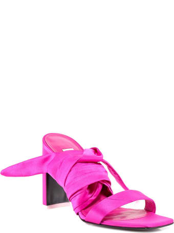 The Attico Ankle-tie Sandals