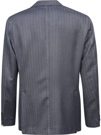Boglioli 3 Buttons Stripe Jacket