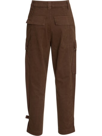 Essentiel Antwerp Brown Cargo Pants