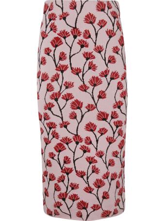 Be Blumarine Floral Skirt
