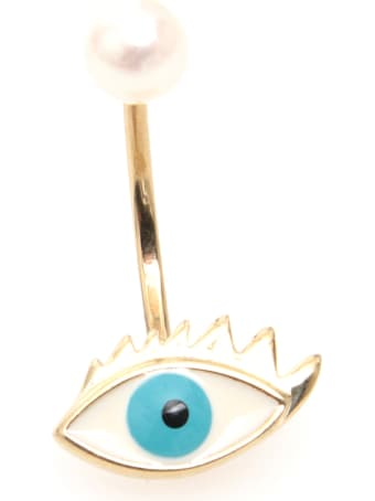 Delfina Delettrez Eye Earring 9kt Gold