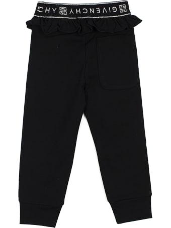 Givenchy Black Cotton Blend Tracksuit Bottoms