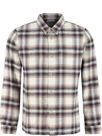 John Elliott Checked Cotton Shirt