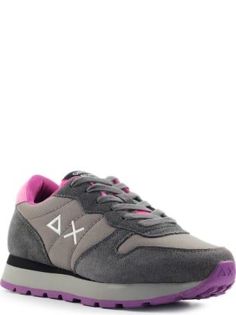 Sun 68 Sun68 Ally Solid Dark Grey Sneaker
