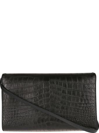 Alexander McQueen Flap Logo Detail Shoulder Bag