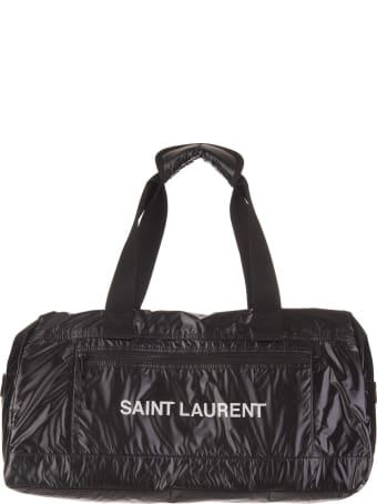 Saint Laurent Black Duffle Nuxx Bag