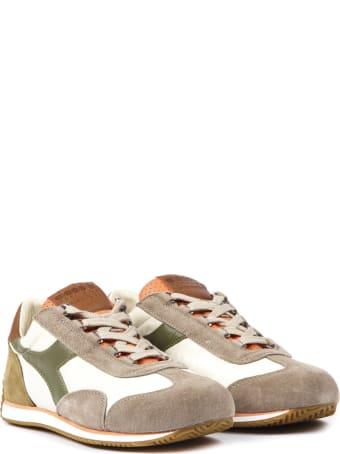 Diadora Heritage Equipe Canvas & Suede Sneakers
