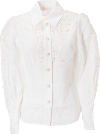 Zimmermann Perforated Shirt