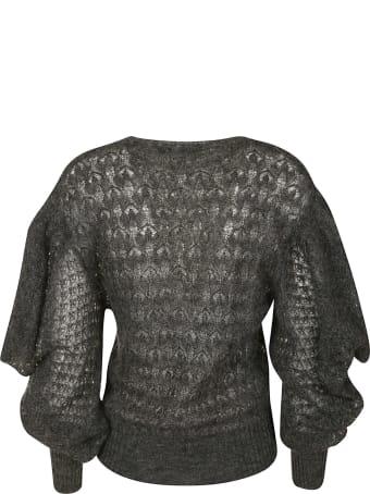 Alberta Ferretti Lace Knitted Jumper