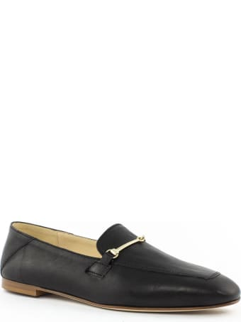 Fabio Rusconi Black Leather Loafer