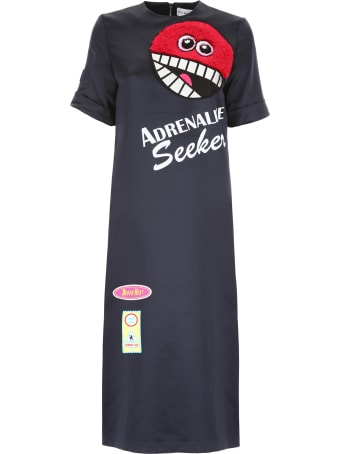 Mira Mikati Adrenaline Seekers Satin Dress