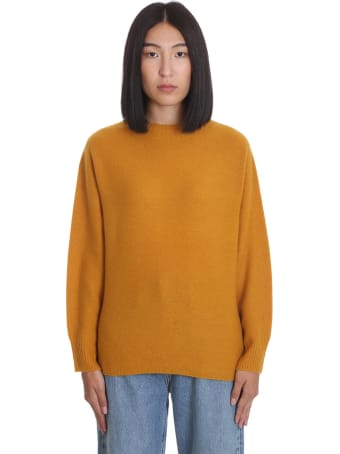 La Ploubel Knitwear In Yellow Cashmere