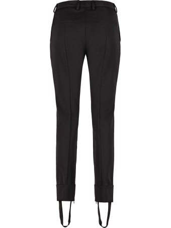Prada Stirrup Detail Tailored Trousers