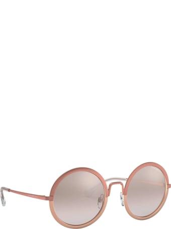 Emporio Armani Emporio Armani Ea2077 Matte Pink & Rose Gold Sunglasses