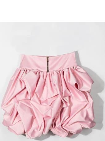 Balmain Wheel Skirt With Gun