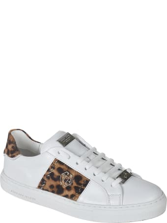 Philipp Plein Lo-top Leopard Sneakers