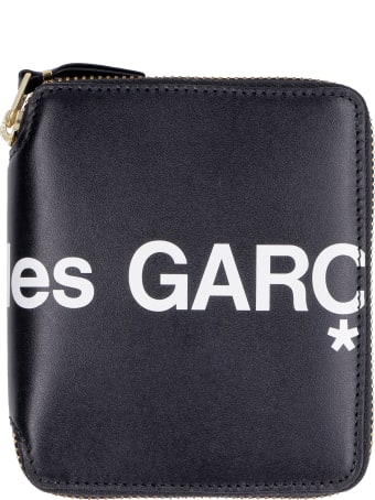 Comme des Garçons Wallet Huge Leather Zip Around Wallet