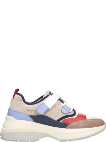 Lola Cruz Sneakers In Taupe Tech/synthetic