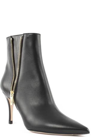 Roberto Festa Black Leather Barcelona Ankle Boot