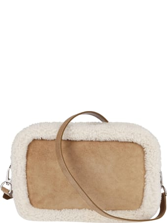 Golden Goose Brown Suede Star Bag
