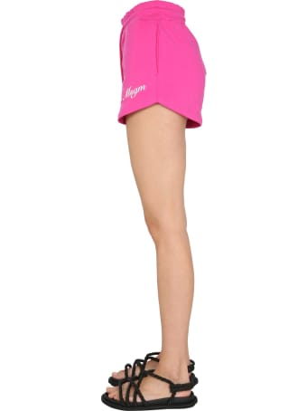 MSGM Shorts With Logo