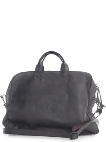Numero 10 Bufalo Briefcase W/big Handle