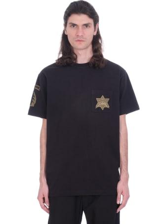 Maharishi T-shirt In Black Cotton