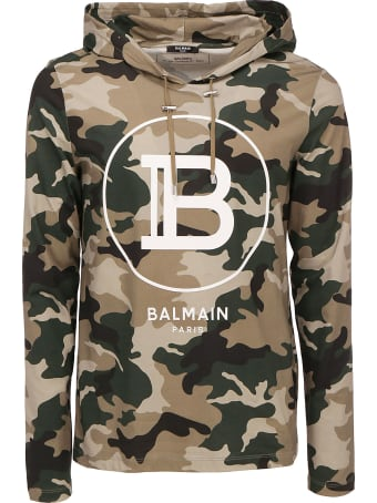 Balmain Hooded Sweatshirt