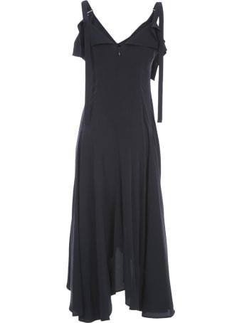 Y's U A Line Flare Dress W/strap