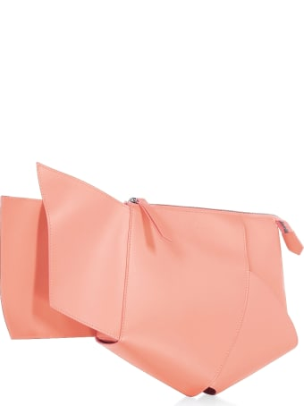 Giaquinto Ava Leather Clutch