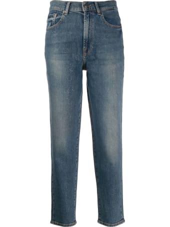 7 For All Mankind Malia Glitter Jeans