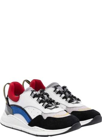 Dsquared2 Color-block Design Sneakers