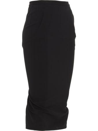 Rick Owens 'pillar Short' Skirt