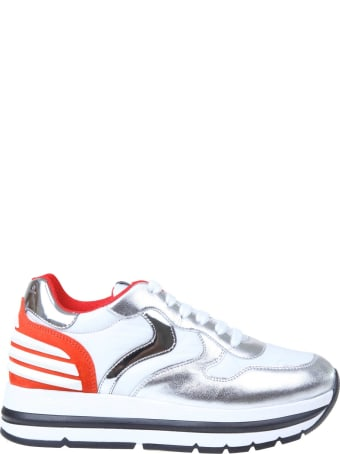 Voile Blanche Maran Power Sneakers White / Red / Silver
